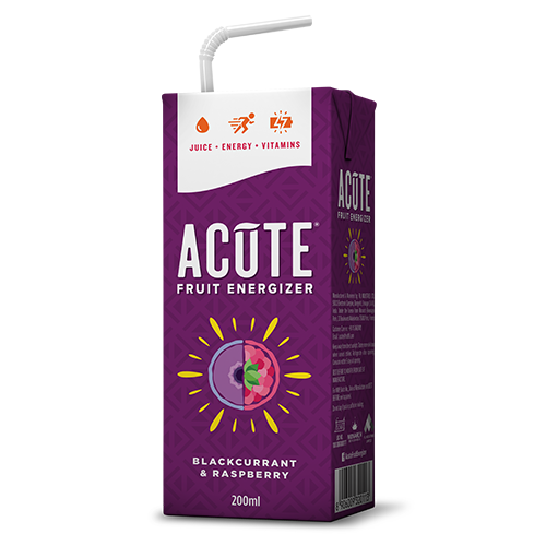 Acute Blackcurrant and Raspberry Fruit Energiser